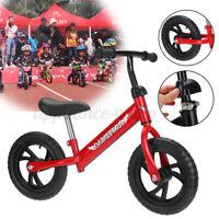 Kids Toddler Balance Bike Beginner Rider Training Push 12inch Wheels Girl  k*