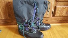 Sorel Women's Hand Crafted in Canada Rubber Waterproof Insulated Boots Size 8