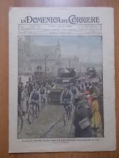 DOMENICA del CORRIERE 4/1923 Occupazione Ruhr, Funerali Costantino di Grecia