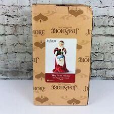 Jim Shore Heartwood Creek Hugs For The Holidays Santa Christmas Figurine 4059757
