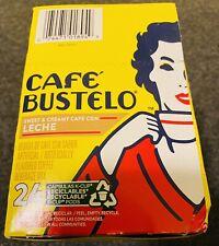 Café Bustelo Café con Leche Flavored Espresso Style Coffee, 24 Keurig K-Cup Pods