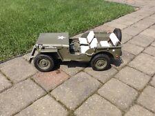 1/6 GI JOE WW2 WILLYS 1941 JEEP 2002 HASBRO.