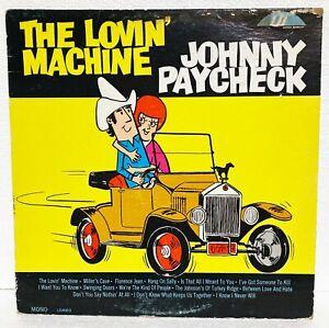 JOHNNY PAYCHECK - THE LOVIN' MACHINE - 1966 LITTLE DARLIN' REC - RARE VINTAGE