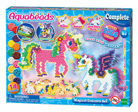 31489 Aquabeads Magical Unicorn Set 2000 Beads & 14 Colours Childrens Toy Age 4+