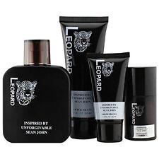 Leopard Men's 4 Piece Fragrance Gift Set, Inspired By Unforgivable By Sean John
