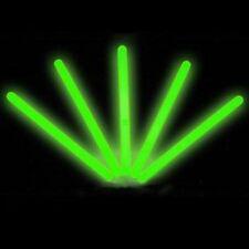 """25 6"""" Glowsticks  GREEN"""