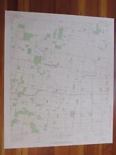 La Blanca Texas 1965 Original Vintage Usgs Topo Map