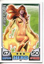 Marvel Hero Attax Series 1 Base Card #62 Firestar