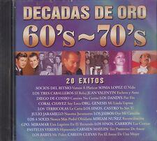 Socios Del Ritmo Sonia Lopez Los Dandys Decadas De Oro 60s 70s  CD New Sealed