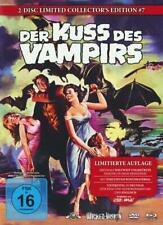 Mediabook Der Kiss Des Vampirs Kiss of the Vampire Limited Blu-Ray DVD Box B New