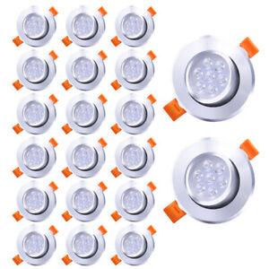 LED Einbaustrahler  Dimmbar Einbau Strahler Deckenleuchte Einbauleuchte Licht