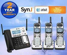 AT&T SynJ® SB67138 DECT 6.0 4-LINE CORDED/CORDLESS PHONE SYSTEM - 3 CORDLESS