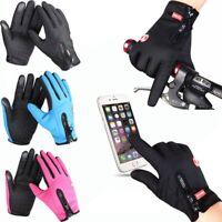Winddicht wasserdicht fühlen Bildschirm Handschuhe Frauen Männer Wintersport A++
