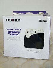 Groovy Camera Case Fujifilm Instax Mini 8 Instant Photo Polaroid Black Case Only