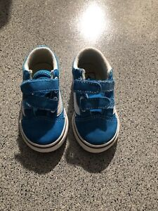 VANS OFF THE WALL TODDLER SHOES SIZE 6C