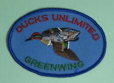 Vintage Ducks Unlimited Greenwing Duck Hunting Club Membership Patch