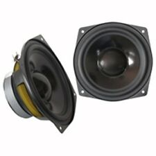 PAIRE HAUT PARLEUR HP WOOFER POLYPROPYLENE 80 watts max 8 OHMS 165mm 16cm