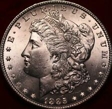 Uncirculated 1885 Philadelphia Mint Silver Morgan Dollar