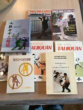 Taijiquan Tai Chi Chuan Bagua book lot kung fu chinese english martial arts