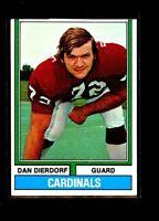 1974 TOPPS #32 DAN DIERDORF CARDINALS ROOKIE NRMINT (OC) E0873