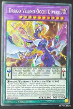 DRAGO VELENO OCCHI DIVERSI  Rara Segreta in Italiano BLLR-IT006 YUGIOH