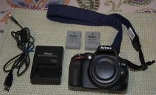 Nikon 25476 D5100 16.2MP Digital SLR Camera Body Only - Black