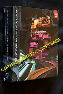 Adobe Creative Suite 5 Master Collection deutsch Macintosh - CS 5 - MwSt.