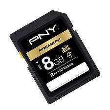 PNY 8G HD DV SDHC SD card for Sony RX1 HX10 HX10V HX20 HX20V HX30 HX30V camera