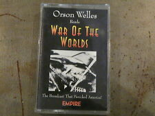 K7 ORSON WELLES reads War of the worlds EMPIRE