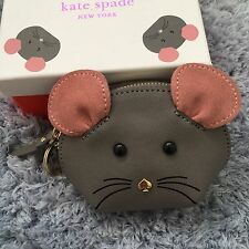 Flash Sale!Kate Spade Small Leather Mouse Coin Purse Wallet, sold out