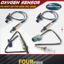 4x Up+Downstream O2 Oxygen Sensor for Infiniti FX35 G35 M45 Altima Maxima VQ35DE