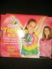 Rainbow Rock One Step Tie Dye Kit Colors Dyes up to 8 Projects