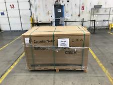 Pallet of 26 Canadian Solar 275w 60 Cell Black Frame Poly Solar Panels CS6K-275P