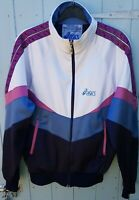 Vintage Asics Taped Tracksuit Track Top Jacket XS/S