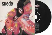 Suede Leaving CD PROMO france french card sleeve head music