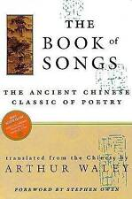 NEW The Book of Songs: The Ancient Chinese Classic of Poetry