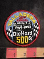 Vtg 1993 Car Race Motorsports TALLADEGA DIEHARD 500 Racing Patch - Battery 94K