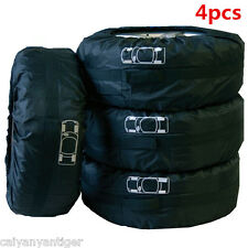 """Car 4 pcs Seasonal Protection Storage Tire Tote Carry Bag Fit 13""""-19"""" Universal"""