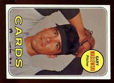 Baseball Card 1969 Topps # 438 Gary Waslewski St Louis Cardinals Topps Card EXMT