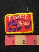 Vtg TRUCKERS OF AMERICA Patch - Trucking / Truck 87E2