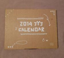 JYJ 2014 Official Calendar Junsu Jaejoong Yoochun