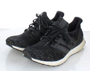 08-67 $195 Men's Sz 10.5 M Adidas UltraBoost 4.0 Fabric Running Sneaker In Black