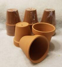 12 Pcs Small Mini Clay Pots 2.5'' Terracotta Pot Clay Ceramic Pottery Plant
