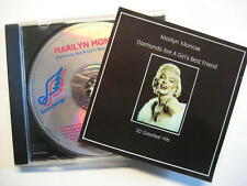 "MARILYN MONROE ""DIAMONDS ARE A GIRL'S BEST FRIENDS - 20 GREATEST HITS"" - CD"