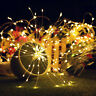 Remote Control Waterproof Firework LED Copper Wire Strip String Lights Party SL