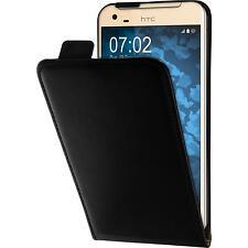 Artificial Leather Case for HTC One X9 - Flip-Case black Case