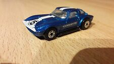 Matchbox Chevrolet Corvette Grand Sport blau Made in Thailand 1989