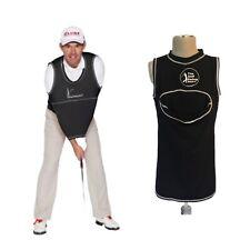 The Golf Swing Shirt Black Size #7 Unisex Golf Training Aid Trainer Top