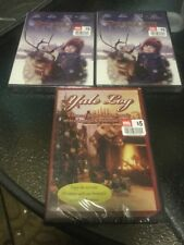 Three DVD Movies (Yule Log, Pranced Return, Pranced Returns)