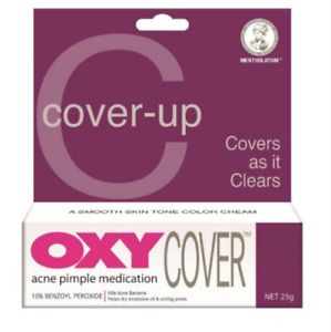 25g OXY COVER Kill and Conceal 10% Benzoyl Peroxide Acne Pimple UK SELLER